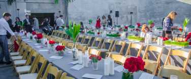 MAPS Backlot Ochoa Wedding Table