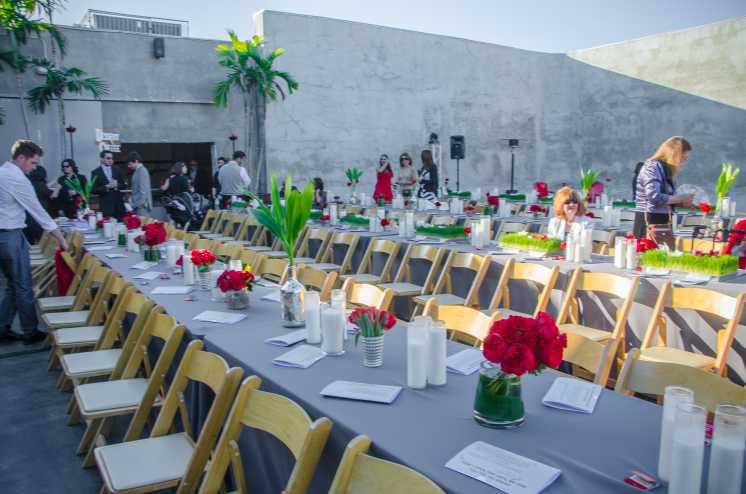 MAPS Backlot Ochoa Wedding Table