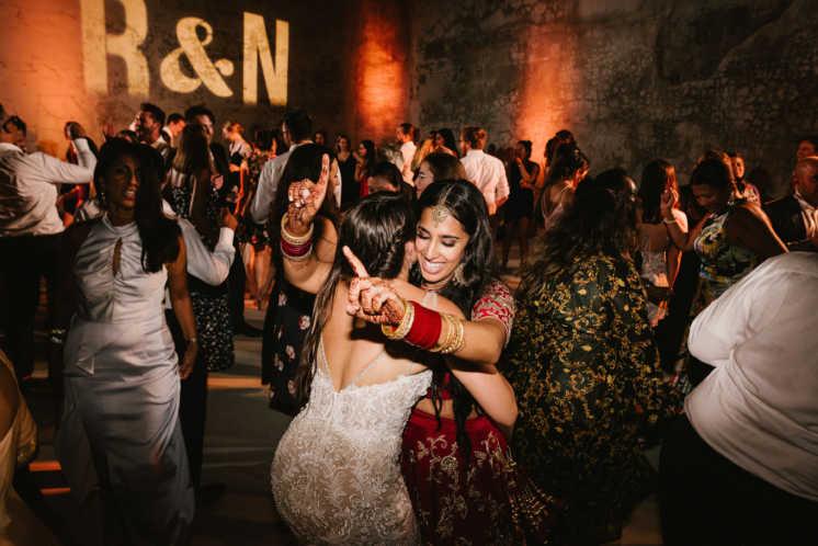 Natalia and Rauvynne's Wedding at MAPS Backlot